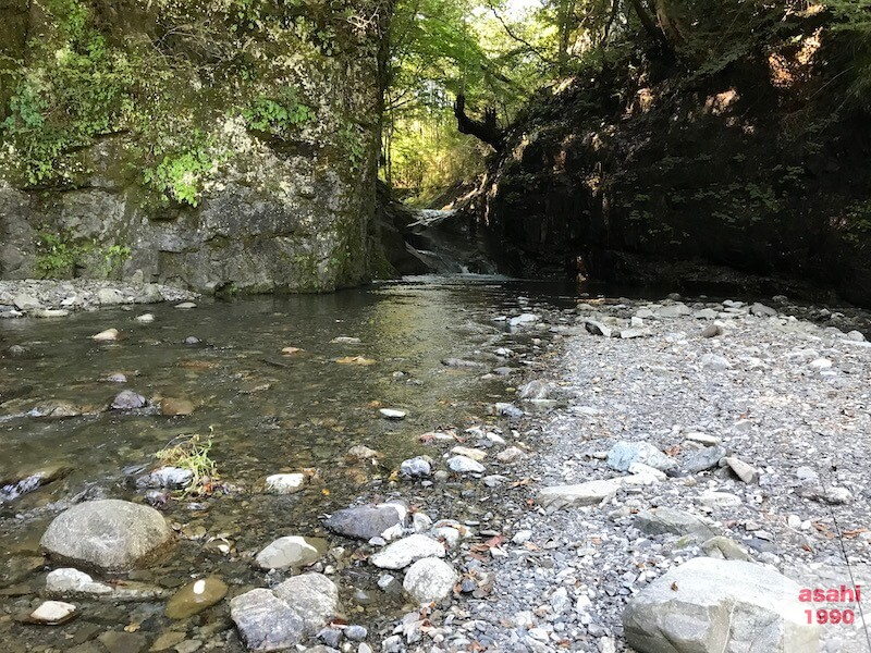 赤平川堰堤