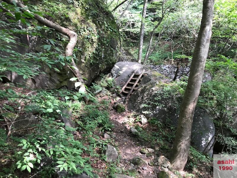 赤城不動大滝ハイキング道はしご