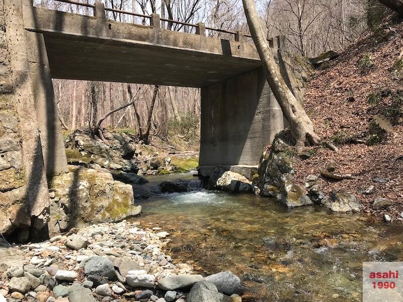 四釜川の橋