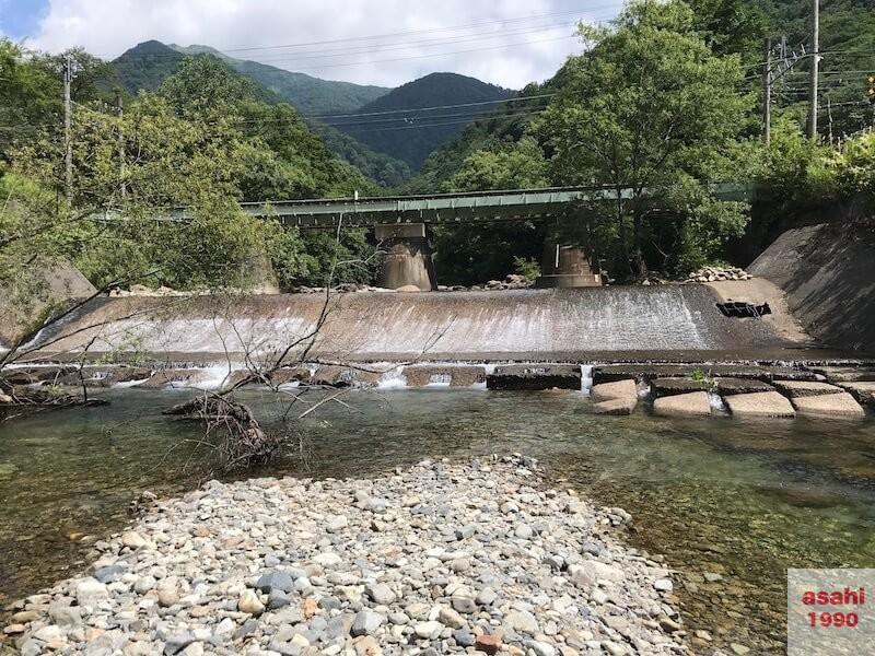 湯檜曽川堰堤