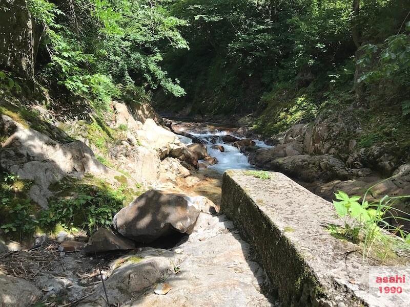 湯檜曽川山岳