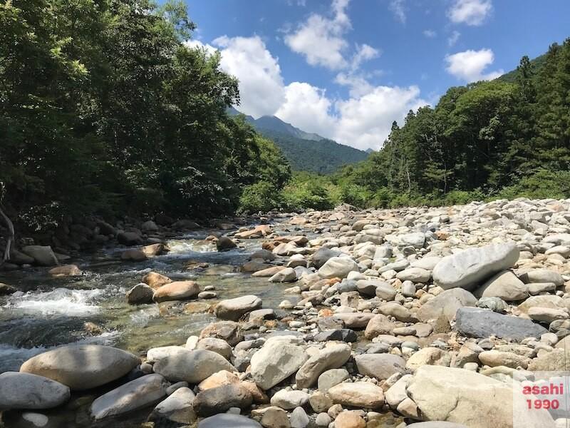 湯檜曽川谷川岳
